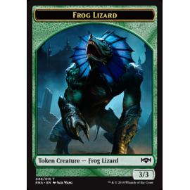 Frog Lizard 3/3 Token 006 - RNA