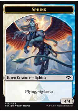 Sphinx 4/4 Token 009 - RNA