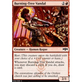 Burning-Tree Vandal