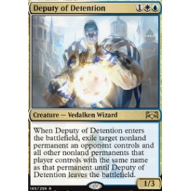Deputy of Detention