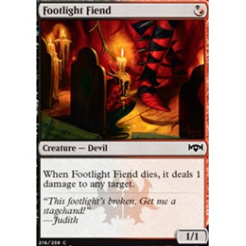 Footlight Fiend
