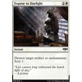 Expose to Daylight FOIL