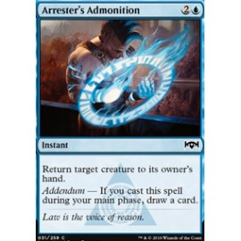 Arrester's Admonition FOIL
