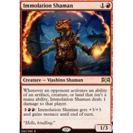 Immolation Shaman FOIL
