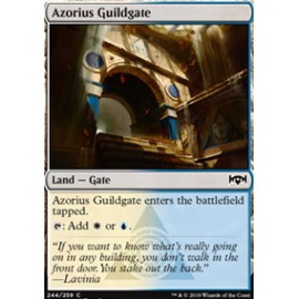 Azorius Guildgate (Version 2) FOIL