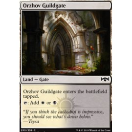 Orzhov Guildgate (Version 21) FOIL