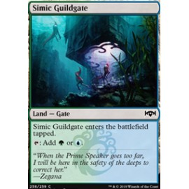 Simic Guildgate (Version 2) FOIL