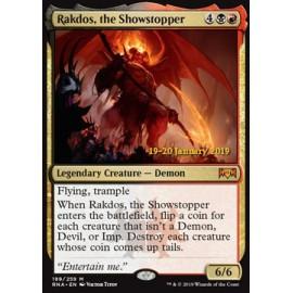 Rakdos, the Showstopper PROMO PRERELEASE