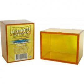 Pudełko Dragon Shield na 100 kart - żółte