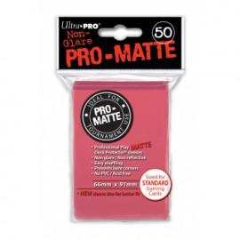 Koszulki PRO-MATTE Fuchsia 50 szt. - Ultra Pro