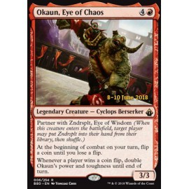Okaun, Eye of Chaos PROMO LAUNCH PARTY