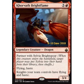 Khorvath Brightflame PROMO LAUNCH PARTY