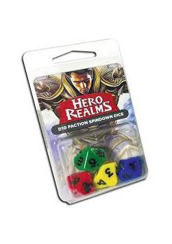 Zestaw kostek Hero Realms - 4x K10 (16 mm)