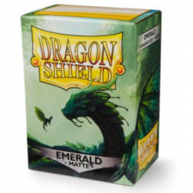 Koszulki Dragon Shield Matowe Emerald 100 szt.