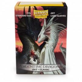 Koszulki Dragon Shield Ilustrowane - Valentine Dragons 100 szt.