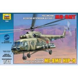 Zvezda 7253 MIL MI-8 Soviet Helicopter