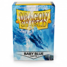 Koszulki Dragon Shield Matowe Baby Blue 100 szt.