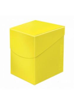 UP - Eclipse PRO 100+ Deck Box - Lemon Yellow