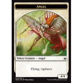 Angel 4/4 Token 002 - WAR