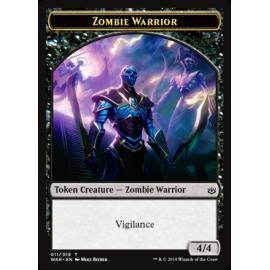 Zombie Warrior 4/4 Token 011 - WAR