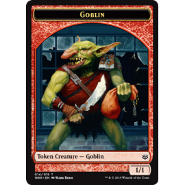 Goblin 1/1 Token 014 - WAR