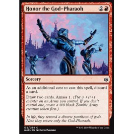 Honor the God-Pharaoh