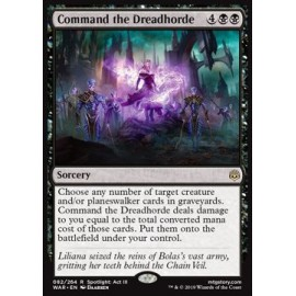 Command the Dreadhorde FOIL