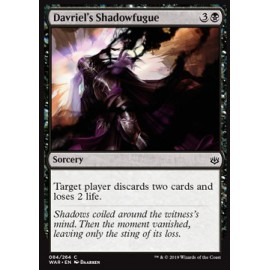 Davriel's Shadowfugue FOIL