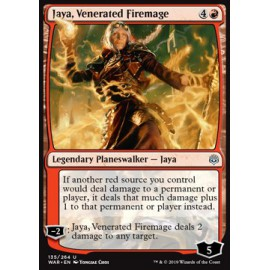 Jaya, Venerated Firemage FOIL