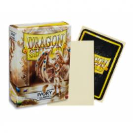 Koszulki Dragon Shield Kość Słoniowa 60 szt.
