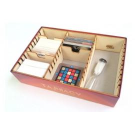 Drewniany insert pasujący do gry Tajniacy (Codenames)