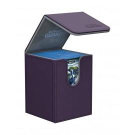 Ultimate Guard Flip Deck Case 100+ Standard Size XenoSkin Purple