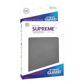 Ultimate Guard Supreme UX Sleeves Standard Size Matte Dark Grey (80)