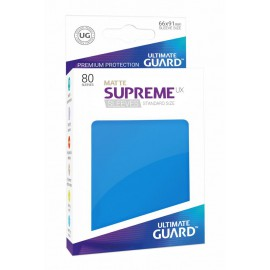 Ultimate Guard Supreme UX Sleeves Standard Size Matte Royal Blue (80)