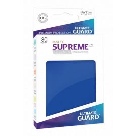 Ultimate Guard Supreme UX Sleeves Standard Size Matte Blue (80)