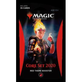 Theme Booster Core Set 2020 - Czerwony