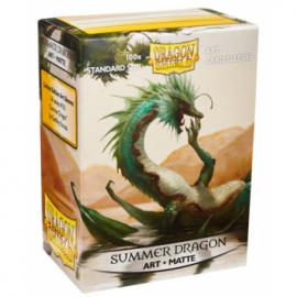 Koszulki Dragon Shield Ilustrowane - Summer Dragon 100 szt.