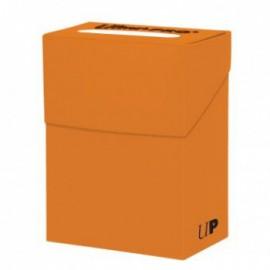 UP - Deck Box Solid - Pumpkin Orange