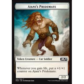 Ajani's Pridemate 2/2 Token 001 - M20
