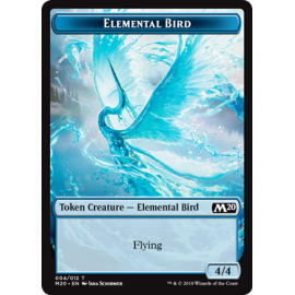 Elemental Bird 4/4 Token 004 - M20