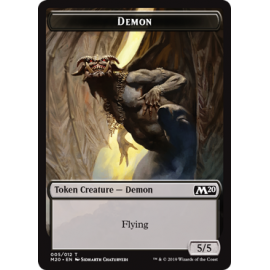 Demon 5/5 Token 005 - M20