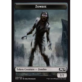Zombie 2/2 Token 006 - M20
