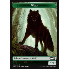 Wolf 2/2 Token 008 - M20