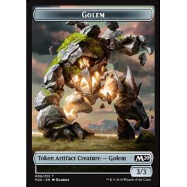 Golem 3/3 Token 009 - M20