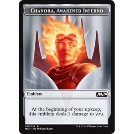 Chandra, Awakened Inferno Emblem 011 - M20