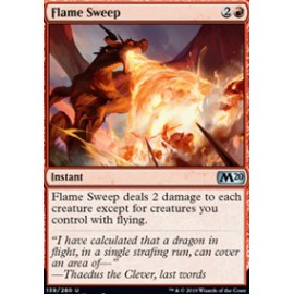Flame Sweep FOIL