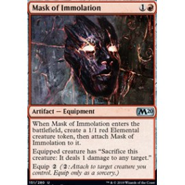 Mask of Immolation FOIL
