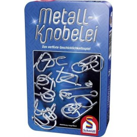 Metal Knobelei - zestaw metalowych łamigłówek(12 szt.)