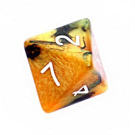 Kość Rebel K8 - czarno-złota