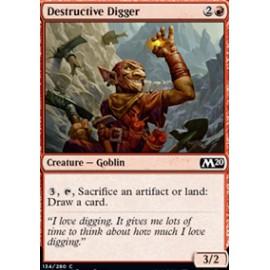 Destructive Digger FOIL